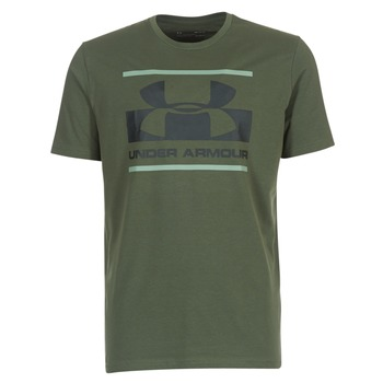Oblečenie Muži Tričká s krátkym rukávom Under Armour BLOCKED SPORTSTYLE LOGO Kaki