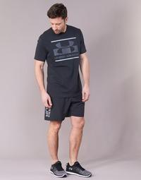 Oblečenie Muži Šortky a bermudy Under Armour WOVEN GRAPHIC WORDMARK SHORT Čierna