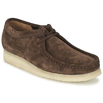 Topánky Muži Derbie Clarks WALLABEE Hnedá