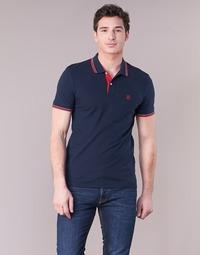 Oblečenie Muži Polokošele s krátkym rukávom Selected SLHNEWSEASON Námornícka modrá