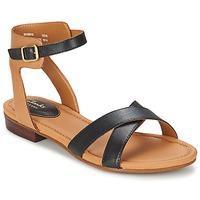 Topánky Ženy Sandále Clarks VIVECA ZEAL Čierna