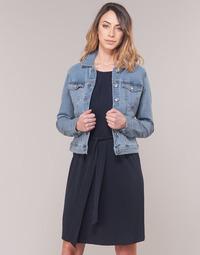 41f3b8568070 Oblečenie Ženy Džínsové bundy Vero Moda VMHOT SOYA Modrá