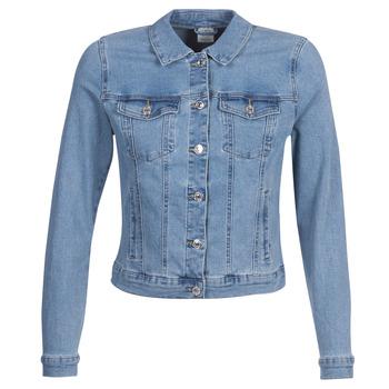 Oblečenie Ženy Džínsové bundy Vero Moda VMHOT SOYA Modrá