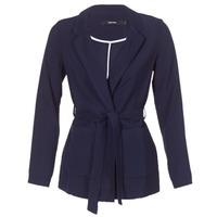 Oblečenie Ženy Saká a blejzre Vero Moda VMELKE Námornícka modrá