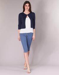 Oblečenie Ženy Nohavice 7/8 a 3/4 Vero Moda VMHOTSEVEN Modrá