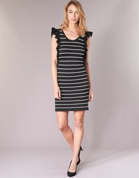 080d8e19414d7 Oblečenie Ženy Krátke šaty Vero Moda VMABHY Čierna / Biela