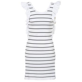 Oblečenie Ženy Krátke šaty Vero Moda VMABHY Biela / Čierna