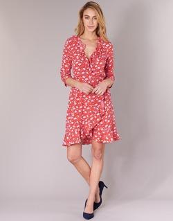 Oblečenie Ženy Krátke šaty Vero Moda VMMOLLY Červená