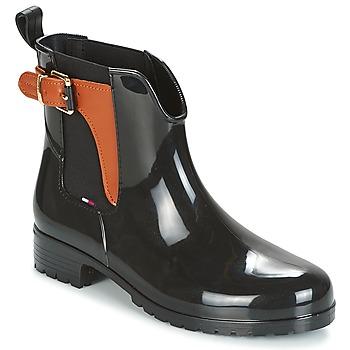 Topánky Ženy Čižmy do dažďa Tommy Hilfiger OXLEY Čierna