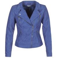 Oblečenie Ženy Kožené bundy a syntetické bundy Only STEADY Modrá