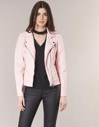 Oblečenie Ženy Kožené bundy a syntetické bundy Only STEADY Ružová