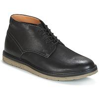 Topánky Muži Polokozačky Clarks BONNINGTON TOP Čierna / Leather