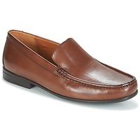 Topánky Muži Mokasíny Clarks CLAUDE PLAIN Hnedá / Leather
