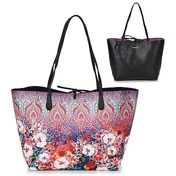 Tašky Ženy Veľké nákupné tašky  Desigual BOLS_CAPRI FREYA Ružová / Viacfarebná