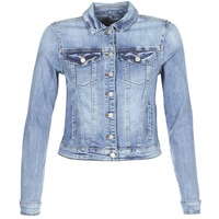 Oblečenie Ženy Džínsové bundy Vila VISHOW Modrá / Medium