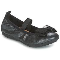 Topánky Dievčatá Balerínky a babies Geox J PIUMA BALLERINES Čierna