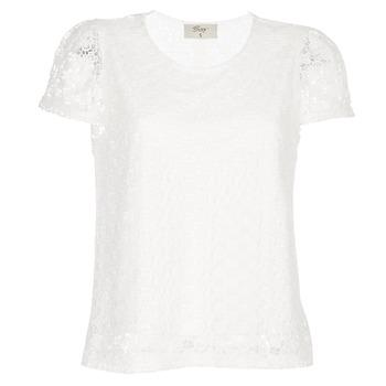 Oblečenie Ženy Blúzky Betty London I-LOVI Biela