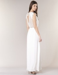 Oblečenie Ženy Dlhé šaty Betty London ILOVEYOU Biela