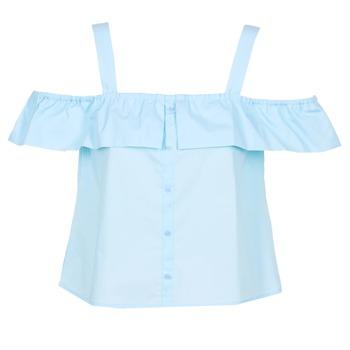 Oblečenie Ženy Blúzky Moony Mood IFARANDOL Modrá