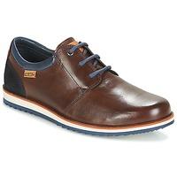 Topánky Muži Derbie Pikolinos BIARRITZ M5A Hnedá / Modrá