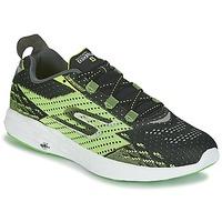 Topánky Muži Bežecká a trailová obuv Skechers Go Run 5 Čierna / Zelená