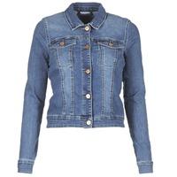 Oblečenie Ženy Džínsové bundy Noisy May NMDEBRA Modrá / Medium