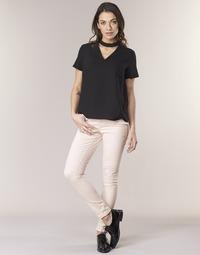 Oblečenie Ženy Nohavice päťvreckové Noisy May NMLUCY Ružová