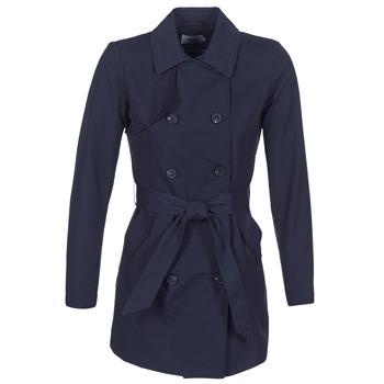 Oblečenie Ženy Kabátiky Trenchcoat Only LUCY Námornícka modrá