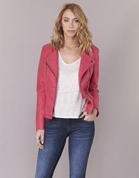 24a1a491054e Oblečenie Ženy Kožené bundy a syntetické bundy Only AVA Ružová