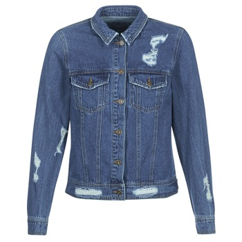 Oblečenie Ženy Džínsové bundy Only BECKY Modrá / Medium