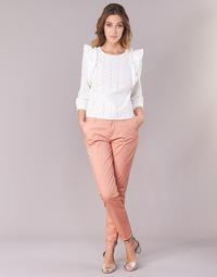 Oblečenie Ženy Nohavice Chinos a Carrot Only PARIS Ružová