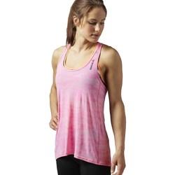 Oblečenie Ženy Tielka a tričká bez rukávov Reebok Sport OS BO Breeze Tank Ružová