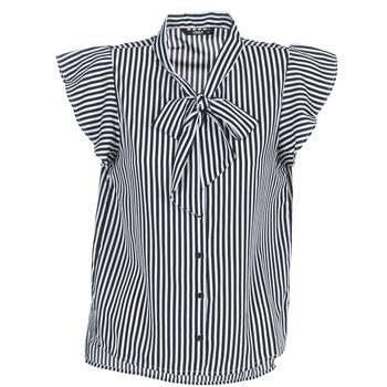 Oblečenie Ženy Blúzky Only ELENA Čierna / Biela
