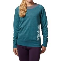 Oblečenie Ženy Mikiny Reebok Sport Sel Melange Crew Zelená