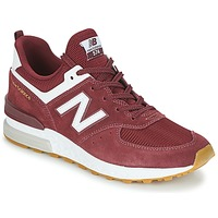 Topánky Muži Nízke tenisky New Balance MS574 Bordová