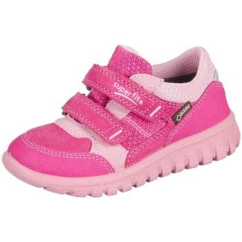 Topánky Deti Nízke tenisky Superfit Sport Mini Pink Kombi Velour Tecno Textil Ružová