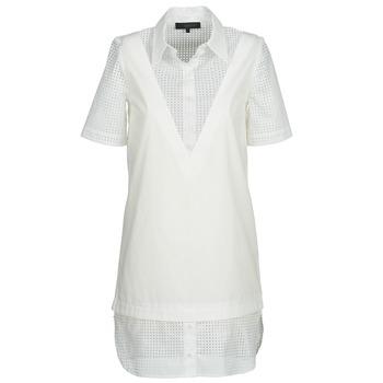 Oblečenie Ženy Krátke šaty American Retro CHARLOTTE Biela