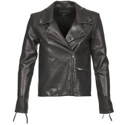 Oblečenie Ženy Kožené bundy a syntetické bundy American Retro LEON JCKT Čierna