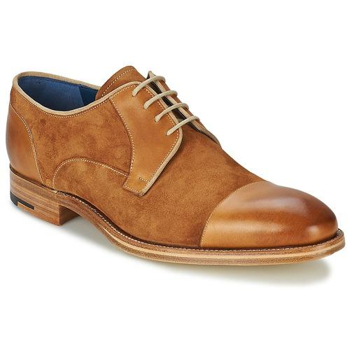 Topánky Muži Derbie Barker BUTLER Hnedá