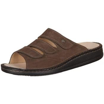 Topánky Muži Šľapky Finn Comfort Korfu Tabak Carat Hnedá