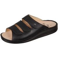 Topánky Muži Šľapky Finn Comfort Korfu Bison Čierna