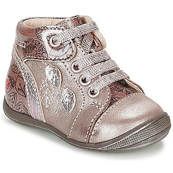 Topánky Dievčatá Členkové tenisky GBB ROSEMARIE Ružová