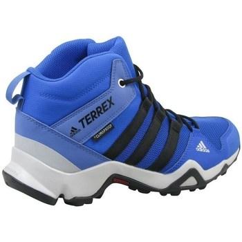 Topánky Deti Členkové tenisky adidas Originals Terrex AX2R Mid CP K Modrá