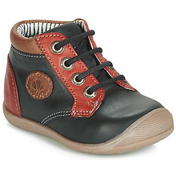 Topánky Chlapci Členkové tenisky Catimini RAYMOND Čierno-červená