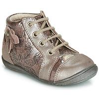 Topánky Dievčatá Členkové tenisky GBB NICOLE Ružová / Zlatá