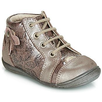 Topánky Dievčatá Členkové tenisky GBB NICOLE Wood / De / Ružová