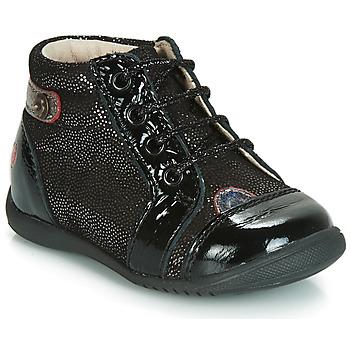 Topánky Dievčatá Členkové tenisky GBB NICOLE Čierna