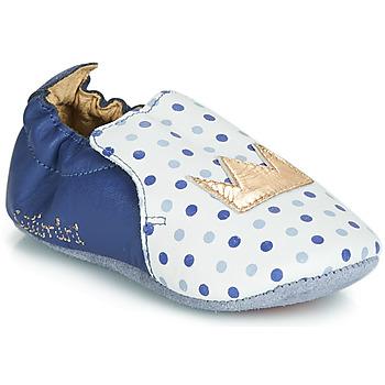 Topánky Dievčatá Papuče Catimini CHIQUETTE Modrá / Biela