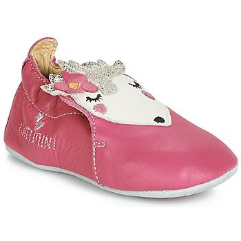 Topánky Dievčatá Papuče Catimini HERISSETTE Ružová