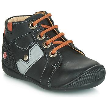 Topánky Chlapci Členkové tenisky GBB REGIS Čierna